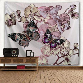 Butterfly   3D Printing Home Wall Hanging Tapestry for Decoration - multicolor A W153CMXL130CM