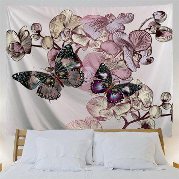 Butterfly   3D Printing Home Wall Hanging Tapestry for Decoration - multicolor A W203CMXL153CM