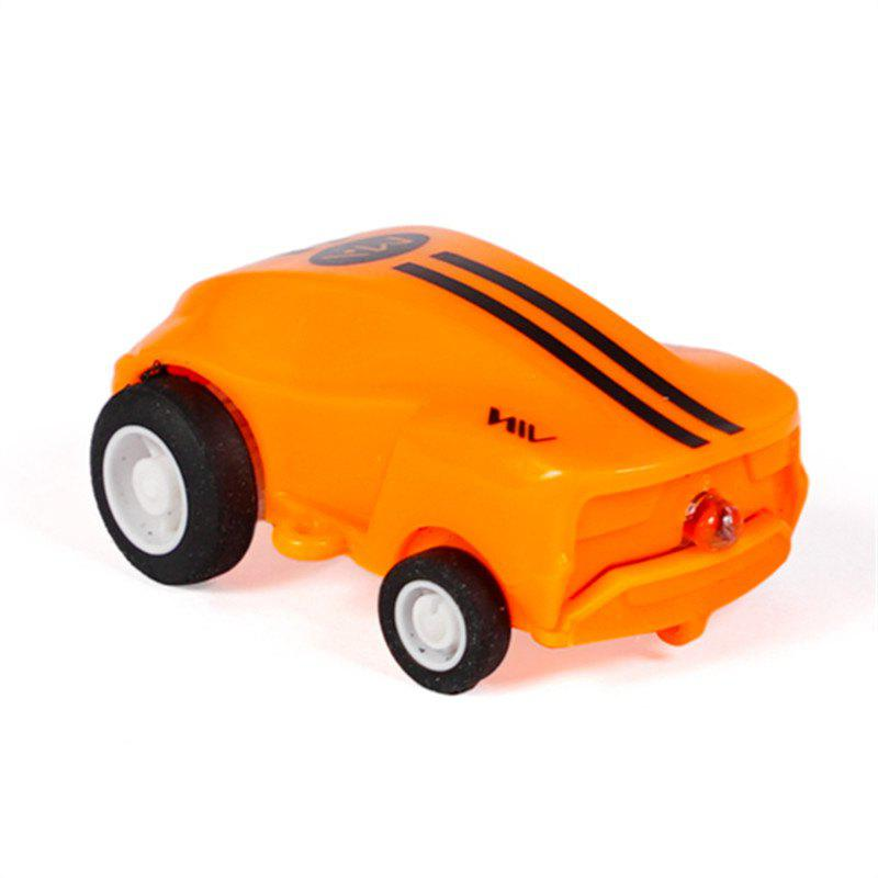 High Speed Mini Racing Car Toy - PUMPKIN ORANGE