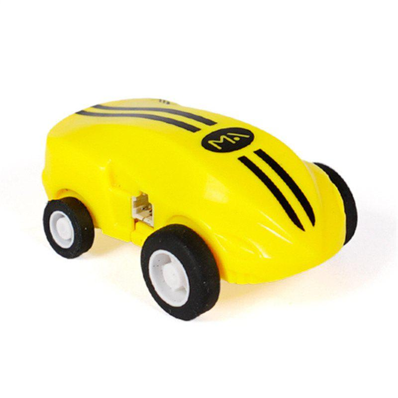 High Speed Mini Racing Car Toy - YELLOW