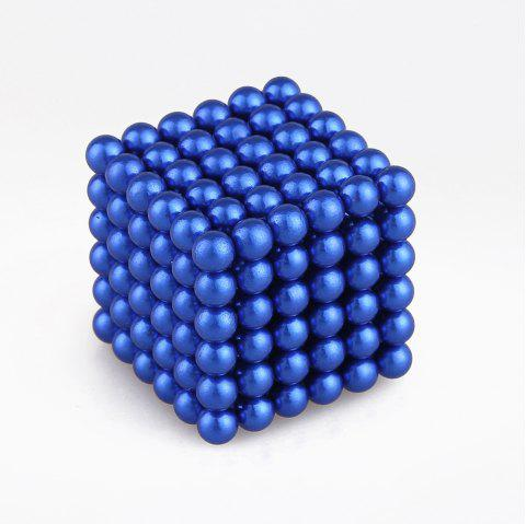 5mm Colorful Magnetic Ball Intelligence Toys 216PCS - ROYAL BLUE