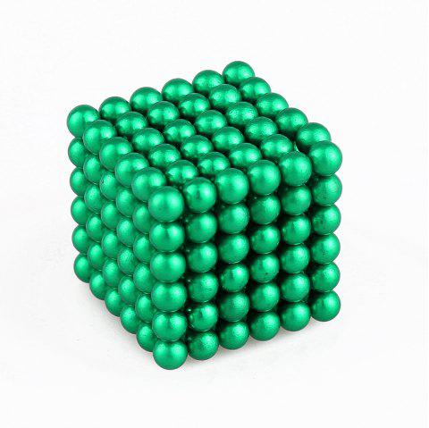 5mm Colorful Magnetic Ball Intelligence Toys 216PCS - GREEN