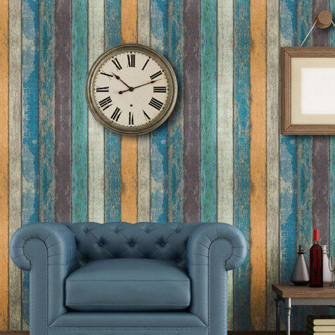 10M Long 3D PVC Thick Self-Adhesive Living Room Bedroom Bar Creative Wallpaper - GLACIAL BLUE ICE