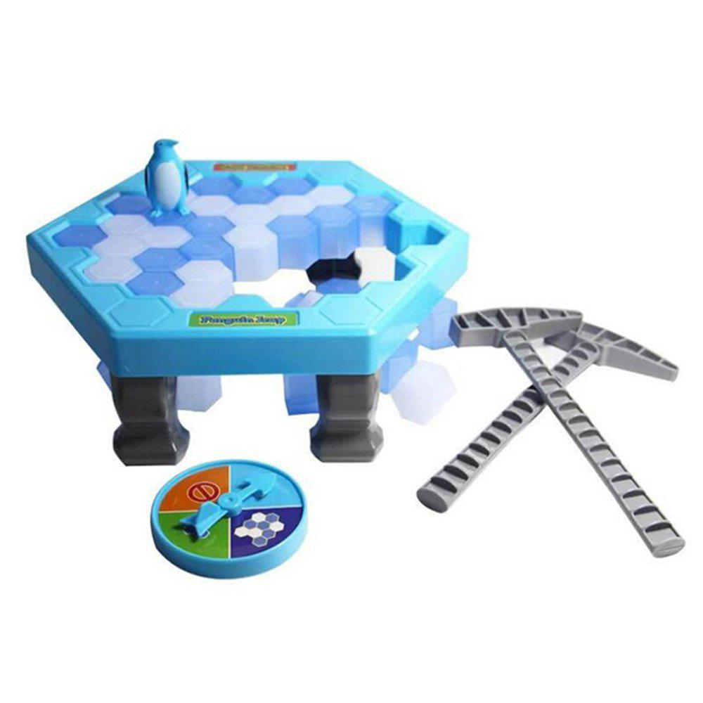 Save Penguins Puzzle Toys Ice Breaking Game Table Icebreaker Chisel - LIGHT BLUE