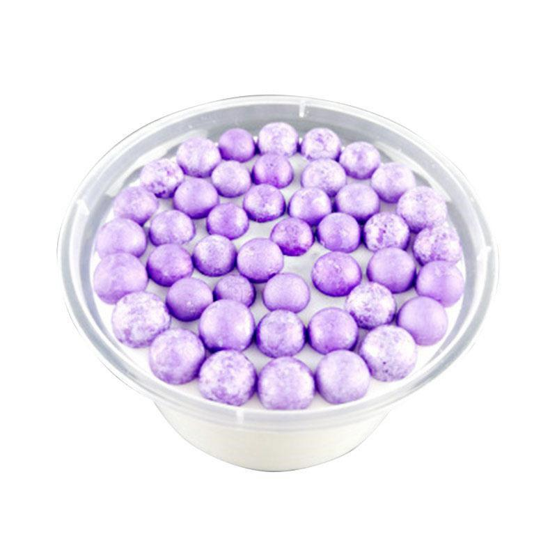 Colorful Beads Mud Scented Anti-stress Fluffy Toy - PURPLE