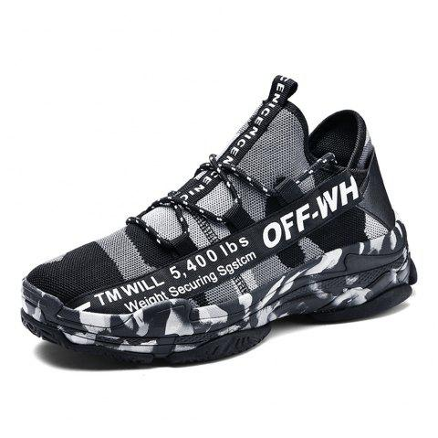 2cf1d0564dd21 LIMITED OFFER] 2019 Male Breathable Light Knitted Sports Sneakers In ...