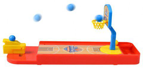 Desktop Mini Finger Basketball Shooting Game Educational Toy Parent-child - RED