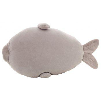 Plush Cute Seal Pillow Stuffed Cotton Soft Animal Toy 30cm Small Gift for Kids - GRAY