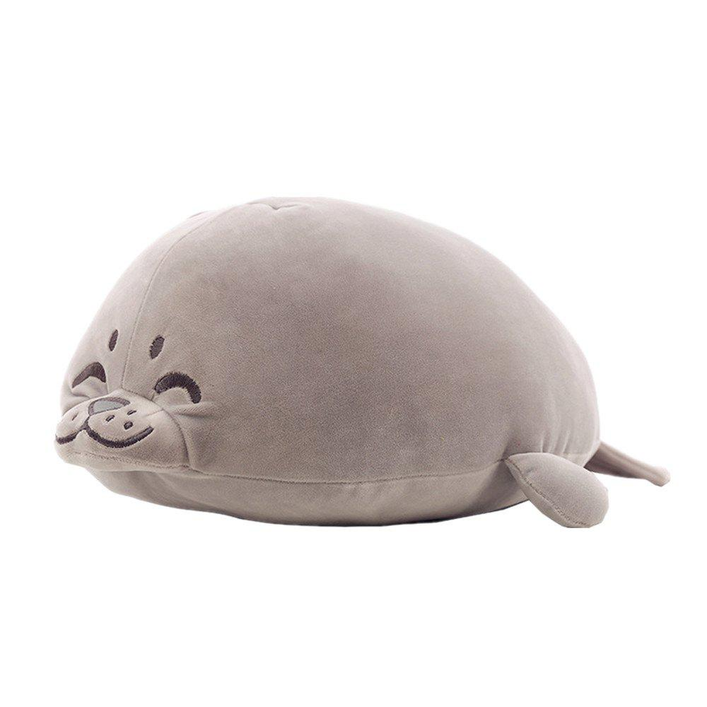Plush Cute Seal Pillow Stuffed Cotton Soft Animal Toy 30cm Small Gift for Kids 1pc 20cm kawaii soft cat plush toys stuffed animal lying cat doll cute doll for kids baby birthday gift children s gift pillow