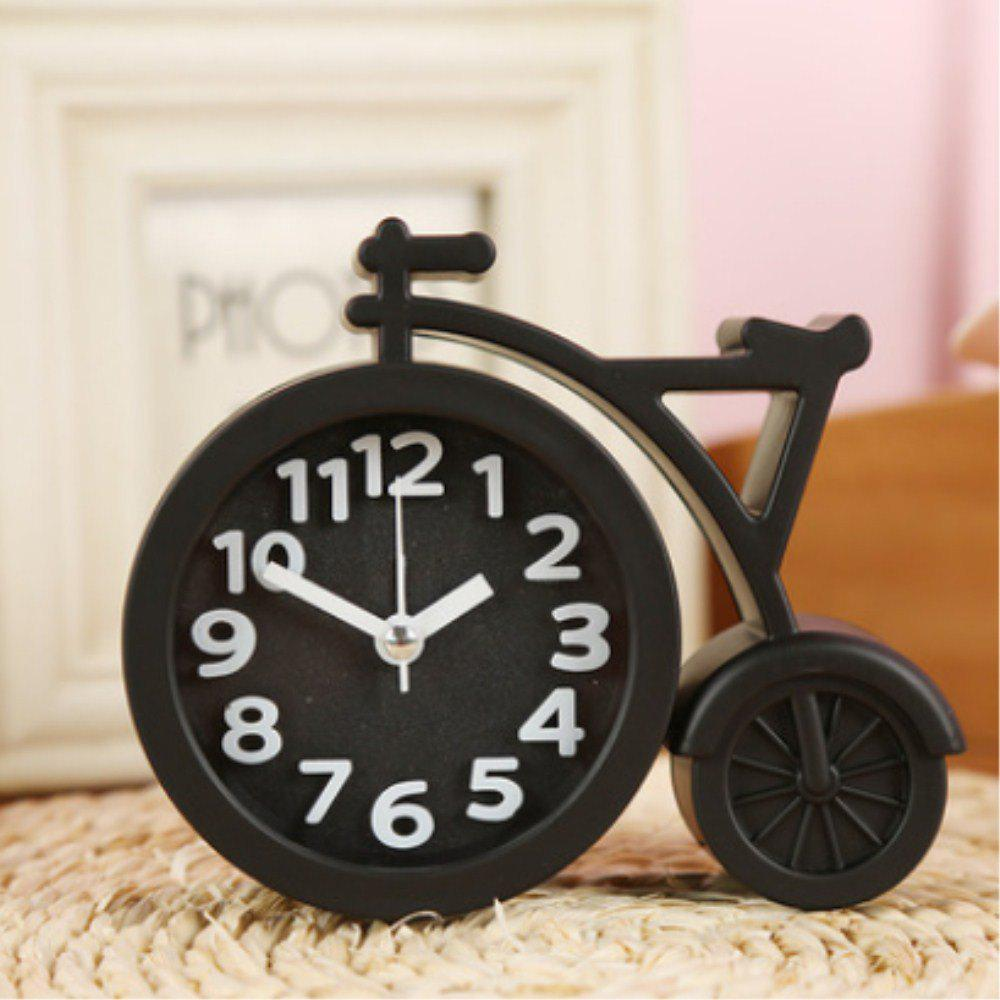 2018 creative digital bicycle mute alarm clock black in novelty gadgets online store best for. Black Bedroom Furniture Sets. Home Design Ideas