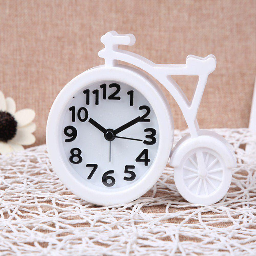 Creative Digital Bicycle Mute Alarm Clock creative target toy led red word display mute alarm clock