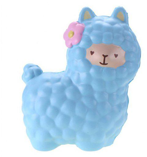 Jumbo Squishy Alpaca Toys Squishies  Slow Rising Toys - JEANS BLUE