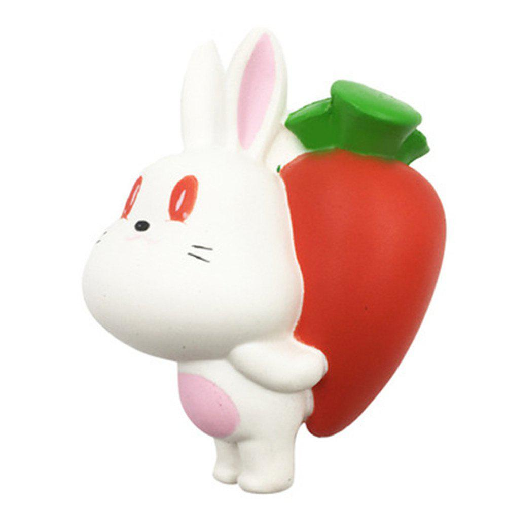 Jumbo Squishy Slow Rebound Toy Rabbit Back Radish slymaoyi classical men wallets genuine leather short wallet fashion zipper brand purse card holder wallet man with coin bag page 10