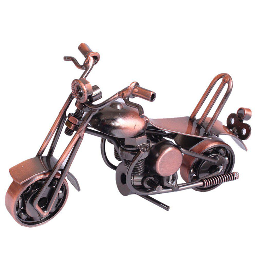 Creative Retro Style Motor Tricycle Model Desk Display Decoration - COPPER