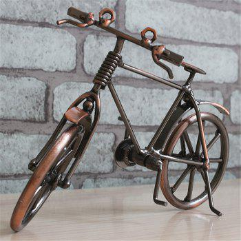 Creative Retro Style Bicycle Model Desk Display Decoration - COPPER