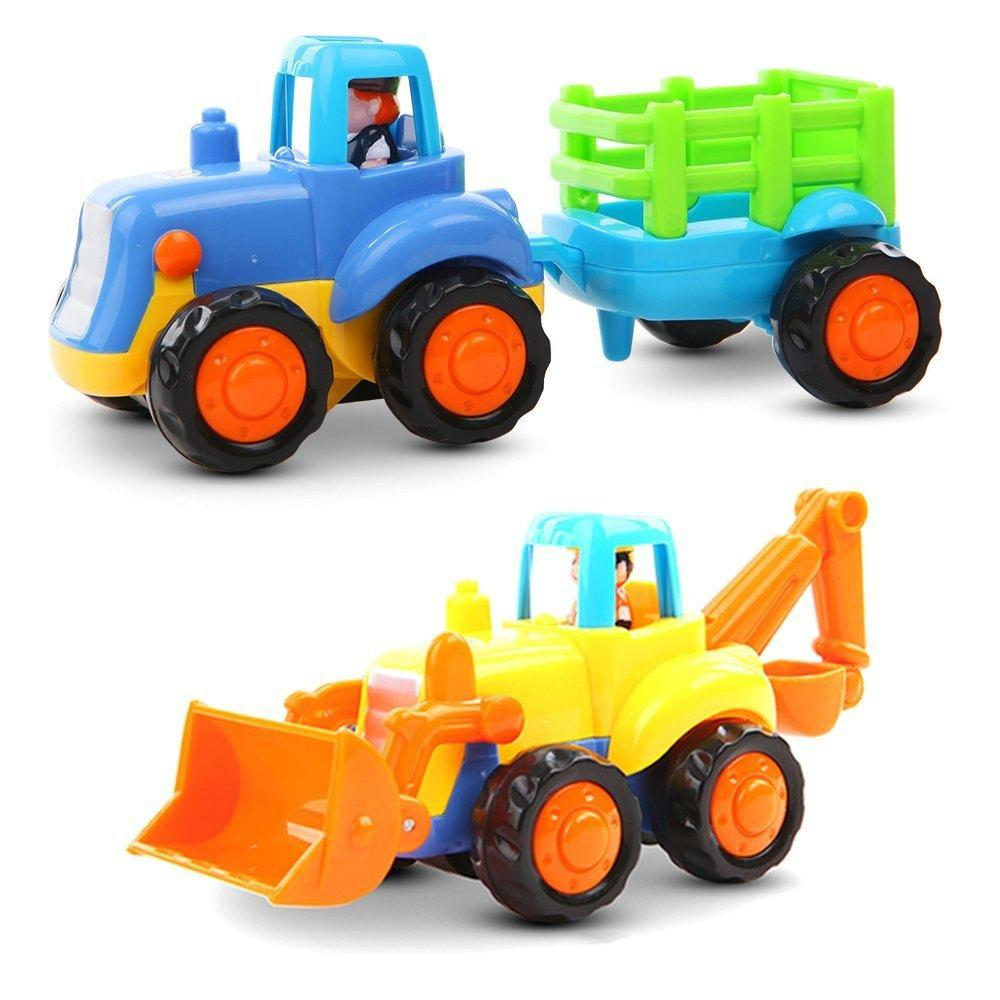 Early Education Baby Push and Go Car Truck Toy Set for Children children scooter car with music baby walker car glide toys scooter baby toy buggiest swing swaying vehicle for 1 10 years walker