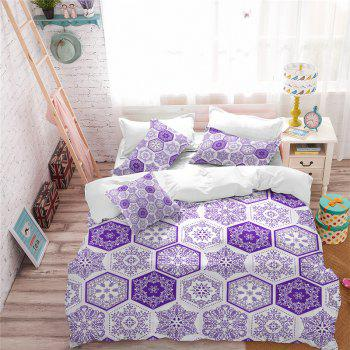 Hot Selling Bohemia National Pattern Series Christmas Element Bedding Set GB82 - THISTLE QUEEN
