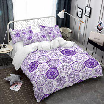Hot Selling Bohemia National Pattern Series Christmas Element Bedding Set GB82 - THISTLE DOUBLE