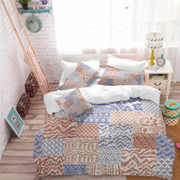 Hot Selling Bohemia National Pattern Series Christmas Element Bedding Set GB93 - SAFFRON QUEEN