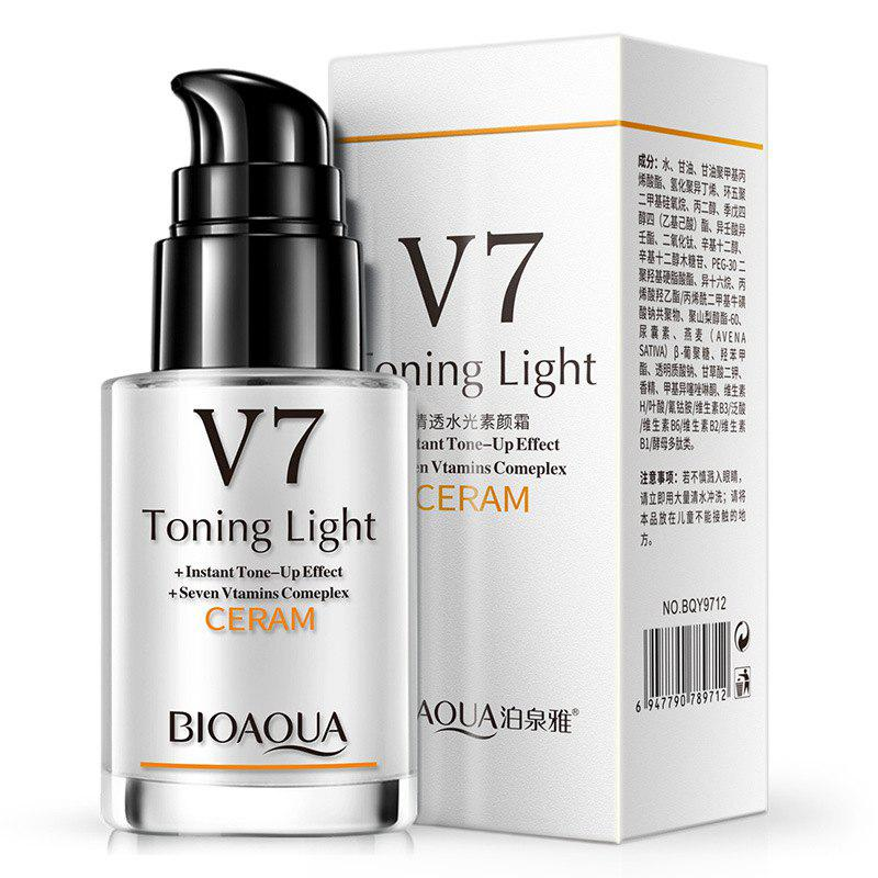 BIOAQUA V7 Tone-Up Cream Moisten The Skin - MILK WHITE