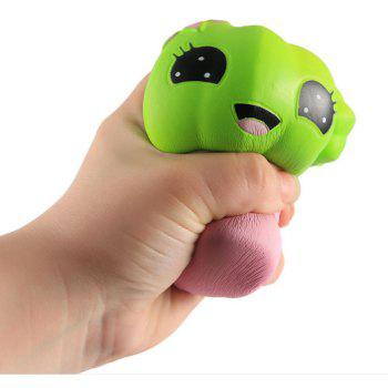 Jumbo Squishy Slow Rebound Simulation Celebrity Decompression Toys - GREEN