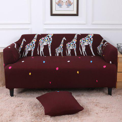 All-Purpose Cartoon Sofa Cover for Four Seasons - multicolor F SINGLE SEAT SOFA:90CM-140CM