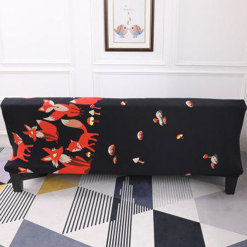 Sofa Cover for Armless Sofa with Cartoon Patterns - multicolor B APPLY FOR ARMLESS SOFA FROM 150CM TO 185CM