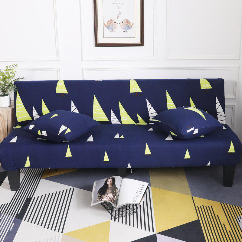 Sofa Cover for Armless Sofa with Cartoon Patterns - multicolor G APPLY FOR ARMLESS SOFA FROM 150CM TO 185CM