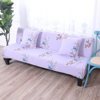 Sofa Cover for Armless Sofa with Printed Cloth - multicolor L APPLY FOR ARMLESS SOFA FROM 150CM TO 185CM