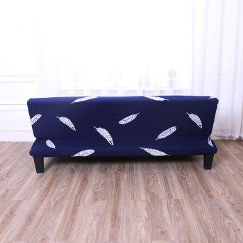 Sofa Cover for Armless Sofa with Printed Cloth - multicolor M APPLY FOR ARMLESS SOFA FROM 150CM TO 185CM