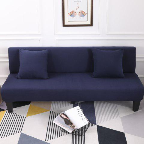 Sofa Cover for Armless Sofa with Pure Color - CADETBLUE APPLY FOR ARMLESS SOFA FROM 150CM TO 195CM