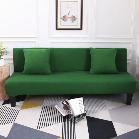Sofa Cover for Armless Sofa with Pure Color - MEDIUM SEA GREEN APPLY FOR ARMLESS SOFA FROM 150CM TO 195CM