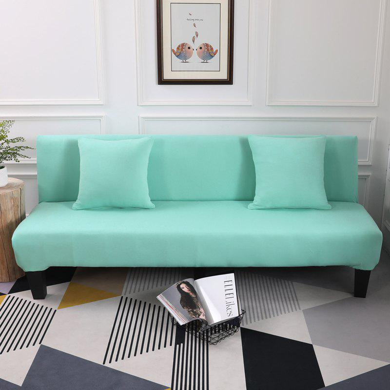 Sofa Cover for Armless Sofa with Pure Color - ELECTRIC BLUE APPLY FOR ARMLESS SOFA FROM 150CM TO 195CM