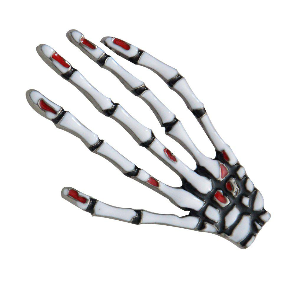 Skeleton Hand Brooches for Man Fashion Jewelry Pins Accessories New 2018 Gift - GUNMETAL