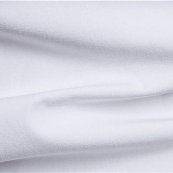 Men Casual Fashion Two Pieces Short Sleeve Shirts - WHITE 2XL