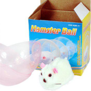 Rolling Mouse Toy Running Animal Funny Hamster Ball - PEARL