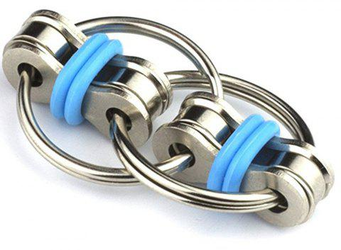 Flippy Chain Fidget Toy for Adults and Kids - DAY SKY BLUE