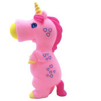 Unicorn Pieces Wild Animal Popper Squeeze Toys Shooting for Children Kids - DEEP PINK