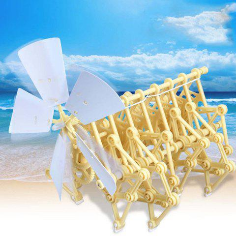 Creature Puzzle Wind Powered DIY Model Toys - WARM WHITE