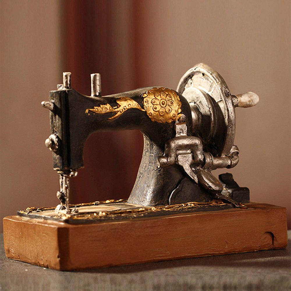 Made Old Dirty Craft Sewing Machine Craft Ornaments