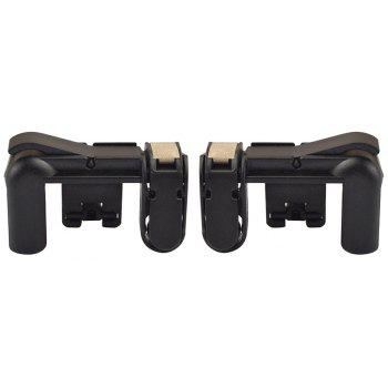 Mobile Phone Gaming Fire Button Trigger L1R1 Shooting Controller 2PCS - BLACK