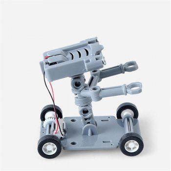 DIY Assembly Salt Water Powered Robot Kit Kids Science Educational Toy - GRAY