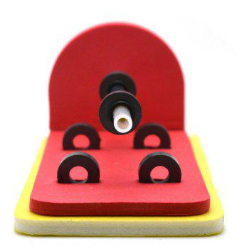 DIY Floating Pen Principle of Suspension Educational Toy - RED