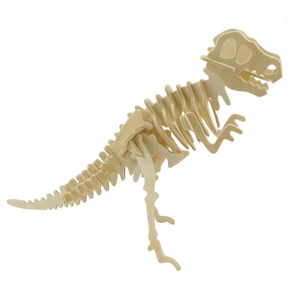 3D Jigsaw Puzzle Wood Model Building Kit Dinosaur Bones 1 piece baby wooden toys magnetic fishing game jigsaw puzzle board 3d jigsaw puzzle children education toy for children