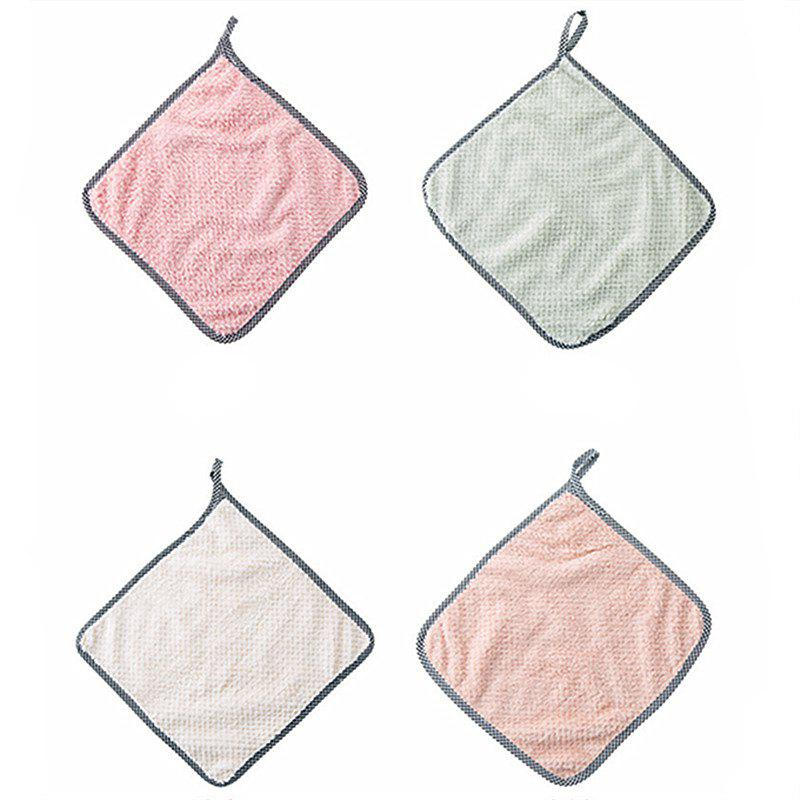 4PCS Household Kitchen Clean Cloth скатерть a promise household cloth 13