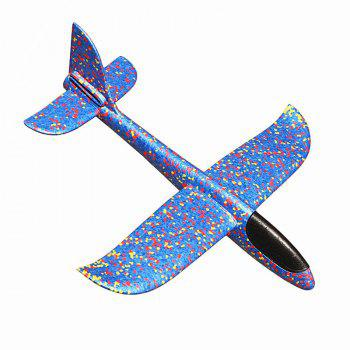 Airplane Manual Throwing Fun Challenging Outdoor Sports Toy - BLUE