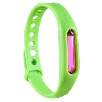 Fashion Summer Mosquito Repellent Bracelet Anti-mosquito Band - GREEN