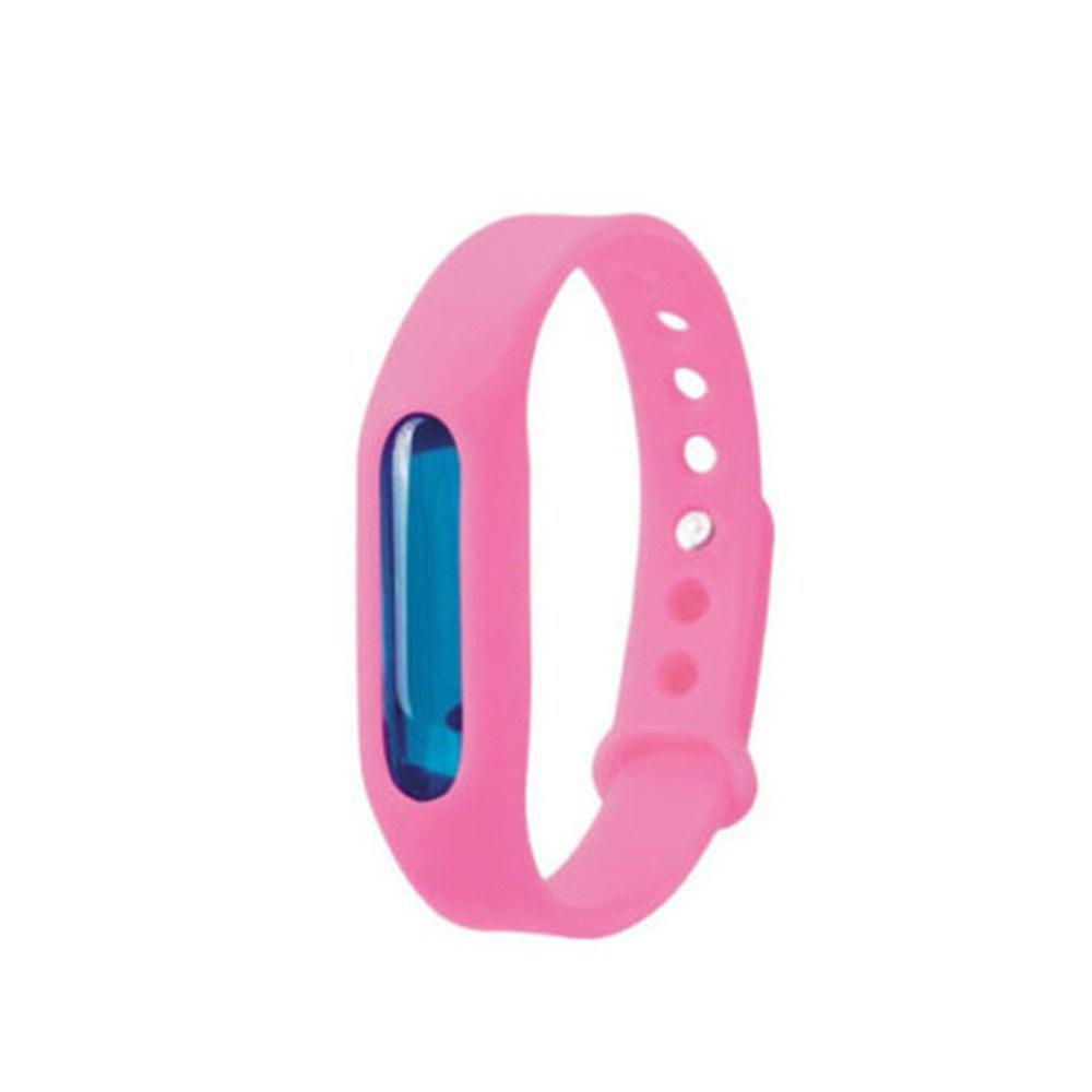 Fashion Summer Mosquito Repellent Bracelet Anti-mosquito Band - PINK