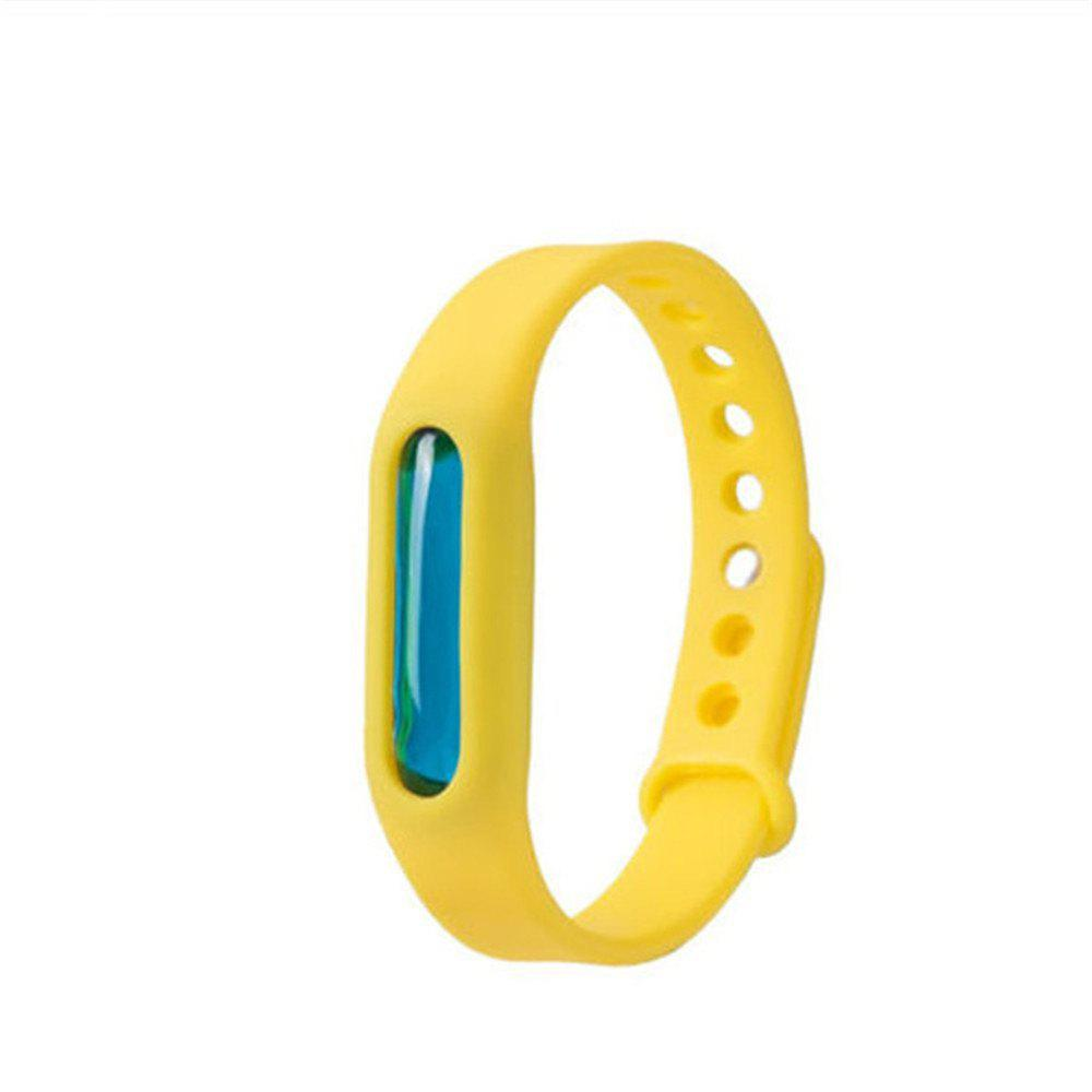 Fashion Summer Mosquito Repellent Bracelet Anti-mosquito Band - YELLOW