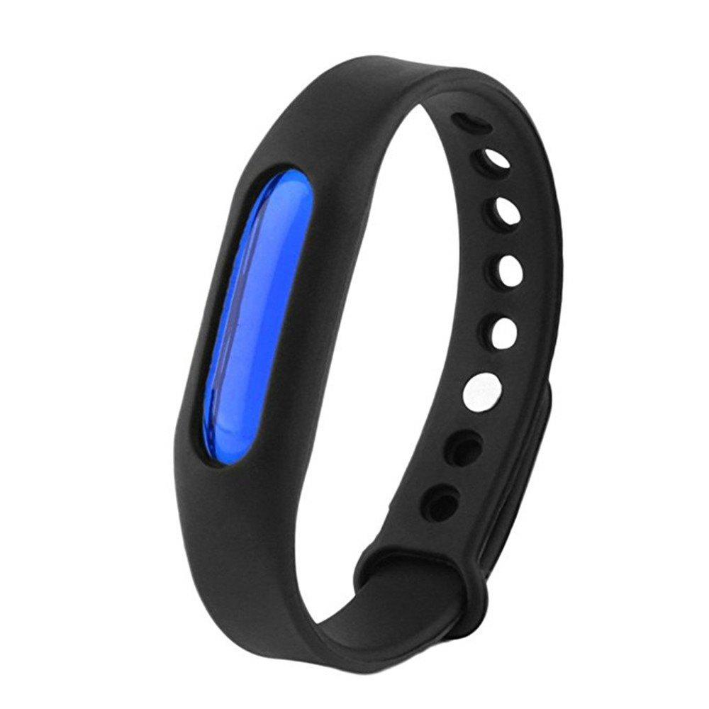 Fashion Summer Mosquito Repellent Bracelet Anti-mosquito Band - BLACK